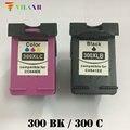 Vilaxh 300 xl совместимый чернильный картридж Замена для HP 300xl для Deskjet F4500 F4580 F4583 Photosmart C4680 C4683 принтер