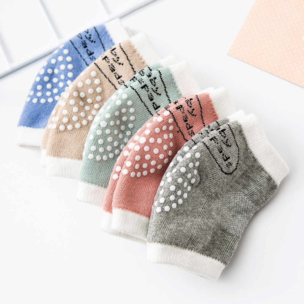 Newborn Baby Soft Cotton Toddler Baby Knee Pads Safety Crawling for Children Kids Protection Girl Boys Knee Protector Socks