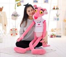 Чучела животных 140 см розовая пантера с ткань плюшевые игрушки мягкая кукла бросить подушку b1463