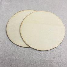Чистая открытка 100 мм круглые деревянные подставки