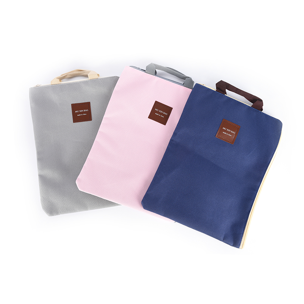 Men Portable Office Supplies Organizer Bags Casual Ladies Tote Document  Handbag For Women A4 Oxford File Folder Bag In Top Handle Bags From Luggage  U0026 Bags ...