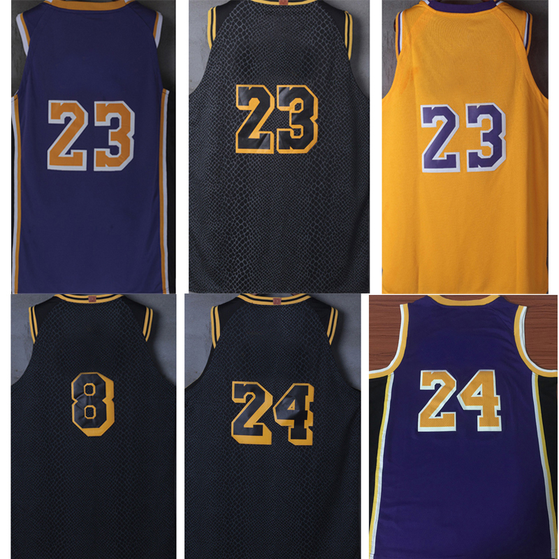 New Tank tops lebron kobe Lonzo Ball Brandon Ingram Kyle Kuzma james bryant city edition jerseys(China)