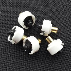 Image 2 - 2 adet/grup Profesyonel el feneri anahtarı düğmesi kuyruk kapağı tıklayın/clicky anahtarı elektronik DIY Parçaları