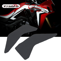 3M+silica gel Motorcycle Tank Pad Protector Sticker Decal Gas Knee Grip Tank Traction Pad For Honda CRF1000L Africa Twin 2016 19