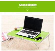 Подставка лоток настольная пикник ноутбука pc кемпинг кровать стол ноутбук складной
