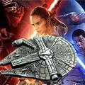 Hot Movie Star Wars: The Force Awakens Star Trek Spaceship Keychain Millennium Falcon Serenity Firefly Warships Key Ring Zkswzm