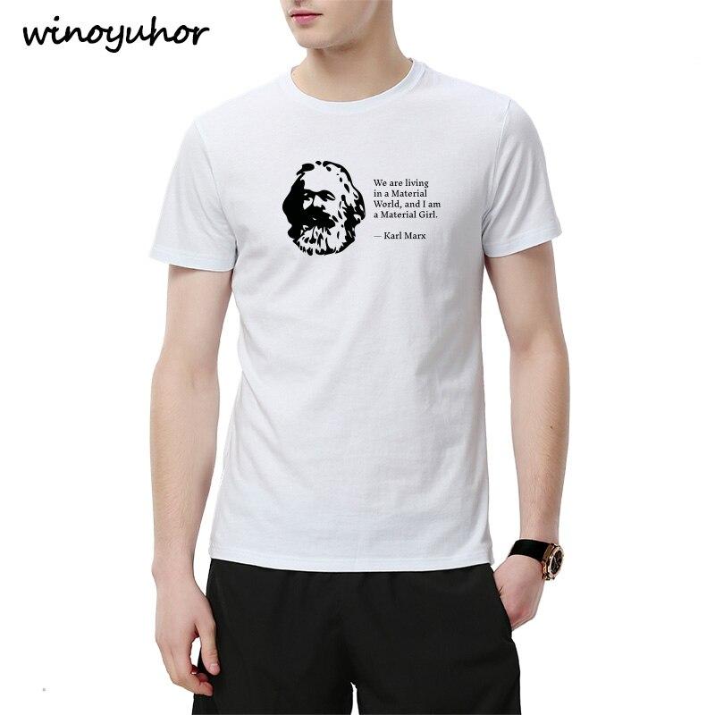 fec5ff9fa5cb2fe Футболка Карла Маркса, капитализм коммунизма, 100% хлопок, футболка с  короткими рукавами,
