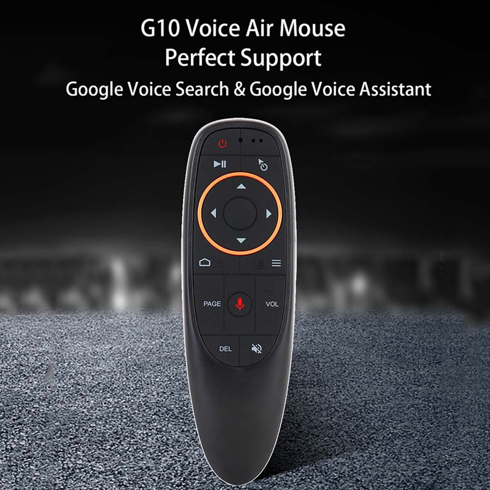 Gyro 2.4G flying squirrel G10 / <font><b>G10S</b></font> Universal TV remote control RF 433Mhz Voice smart TV remote control for Android TV Box image