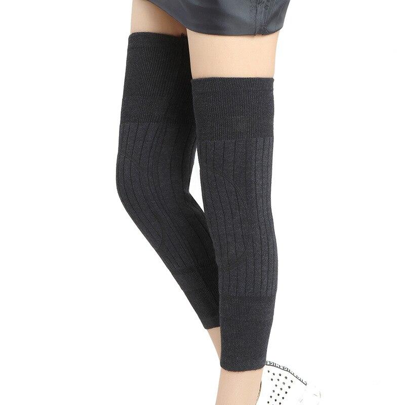 Unisex Cashmere Knee Pads Protector For Arthritis Wool Warm Knee Support Sports Winter Knee Sleeve Socks Leg Warmers C7101517