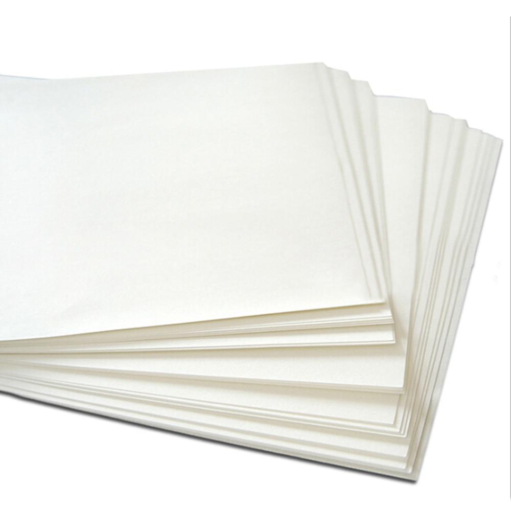 New 100Pcs A4 Iron On Heat Transfer Paper Press Kit For Light T-shirt Inkjet Print Accessories
