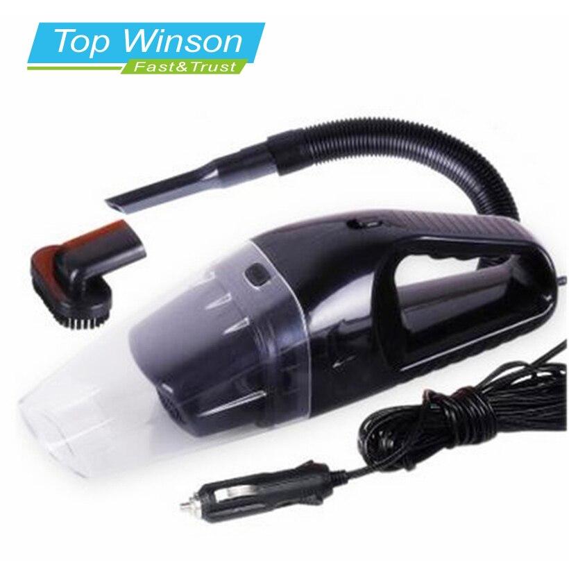imágenes para Aspirador Portable del coche Mojado Y Seco de Doble Uso Filtro de Cigarrillo Auto Más Ligero 120 W 12 V Negro