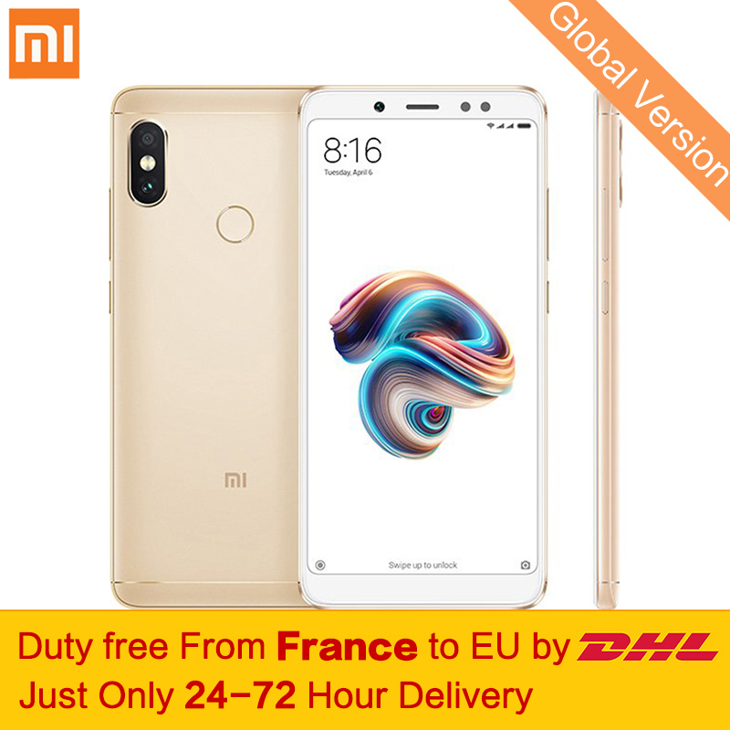 "Free tax! Global Version Xiaomi Redmi Note 5 Smartphone 3GB 32GB 5.99"" Full Screen Snapdragon 636 Octa Core MIUI 9.5 Dual Camera"