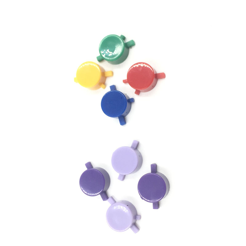 50sets For Gameboy Zero DMG 01 PLastic Purple Colorful Buttons For Raspberry Pi