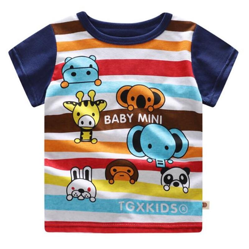 Mode Manches Petite Qualité Matériau Bonne Courtes Casual Taille T Coton 7 shirt Mignon vwXvOtq