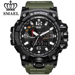 Smael brand men sports watches dual display analog digital led electronic quartz wristwatches waterproof swimming military.jpg 250x250
