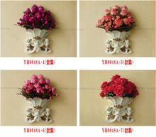 European-style angel wall hanging vase flower basket decorative creative living room background decoration artwor