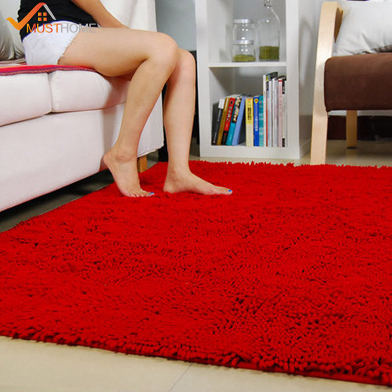 80x160cm 31 x63 Chenille Microfiber Living Room Rug Modern Soft Skin friendly Bedroom Rugs and Carpets