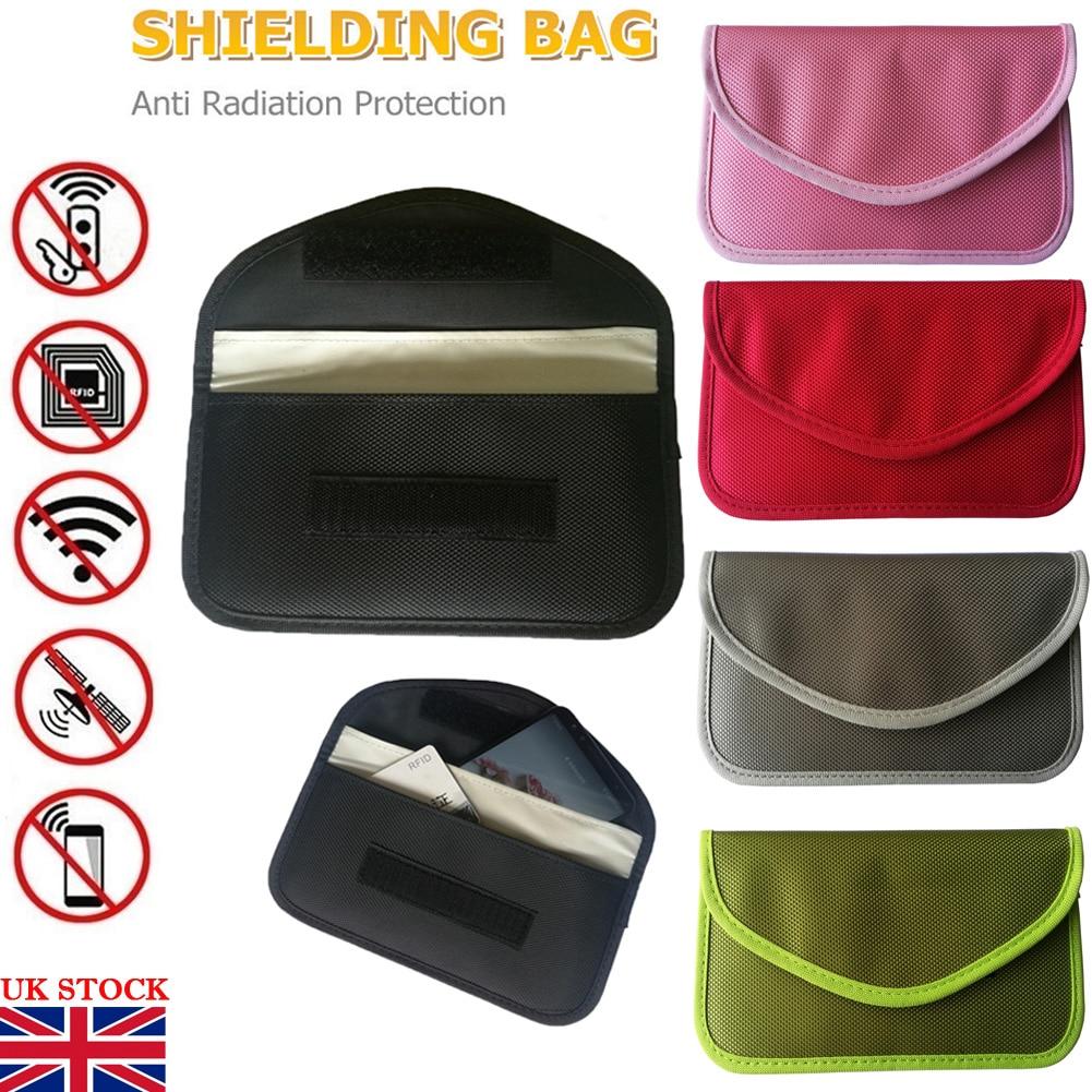 New Car Key Keyless Entry Fob Signal Guard Blocker Black  Faraday Bag UK