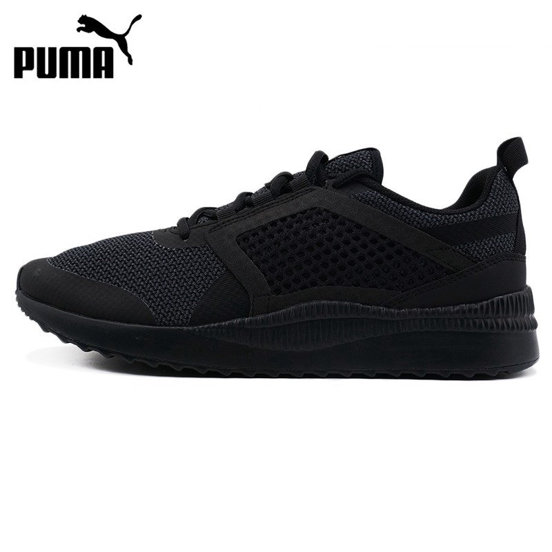 Original New Arrival 2018 PUMA Pacer Next Net Men's Skateboarding Shoes Sneakers