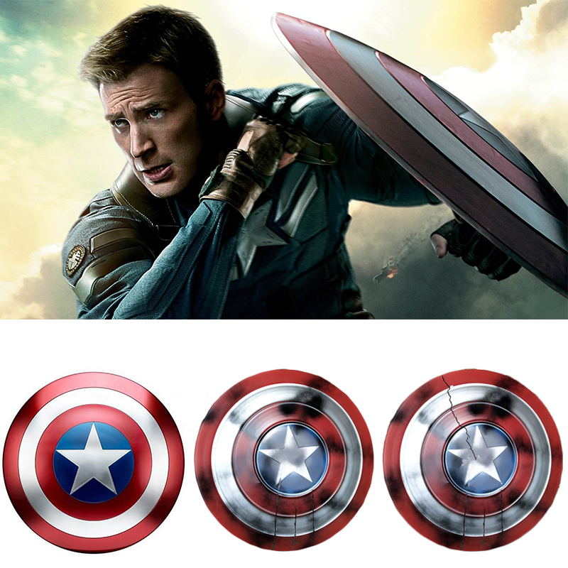Avengers Endgame Captain America Shield Steve Rogers Cosplay Prop superhero Metal Shield props Halloween Party image