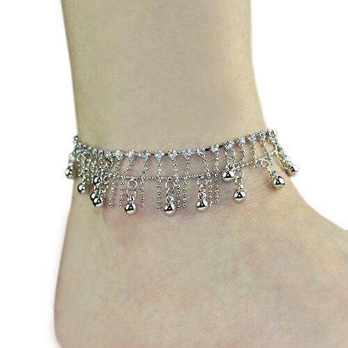 Women s Ankle font b Bracelet b font font b b font font b bangles b