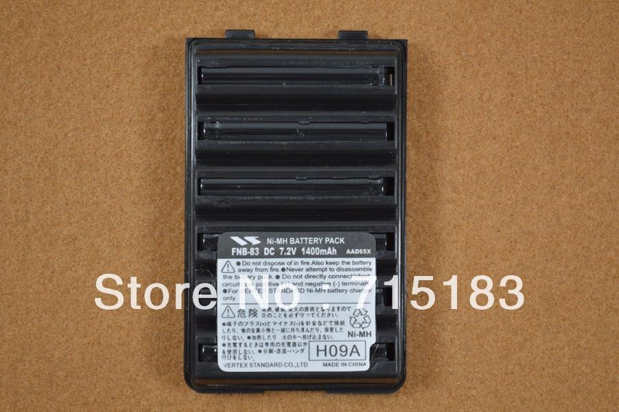 koupit baterii fnb 83 - Vertex Standard FNB-83 DC 7.2V 1400mAh repleacement Battery Pack for Vertex VX-160 VX-168 VX-170 VX-177 VX-210A VX-218 VX-400