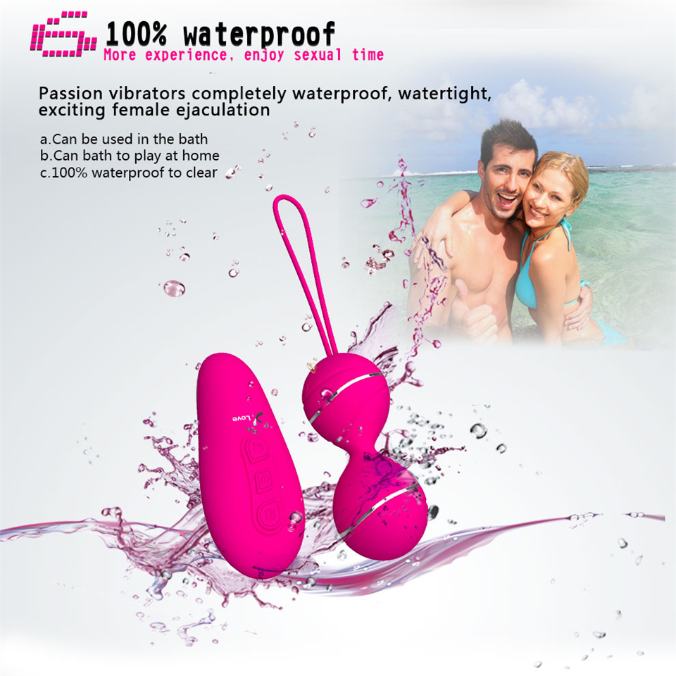 Image 4 - 7 Speed Remote Control Kegel Ball Vaginal Tight Exercise Vibrating Eggs Geisha Ball Ben Wa Balls Dual Vibrator Sex Toy for Women-in Vagina Balls from Beauty & Health