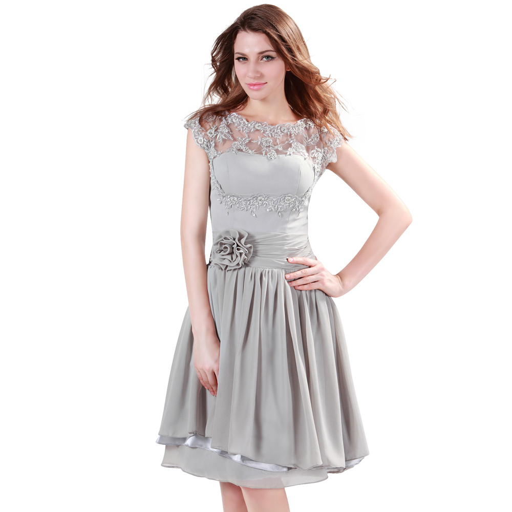 grey dresses for women - Dress Yp