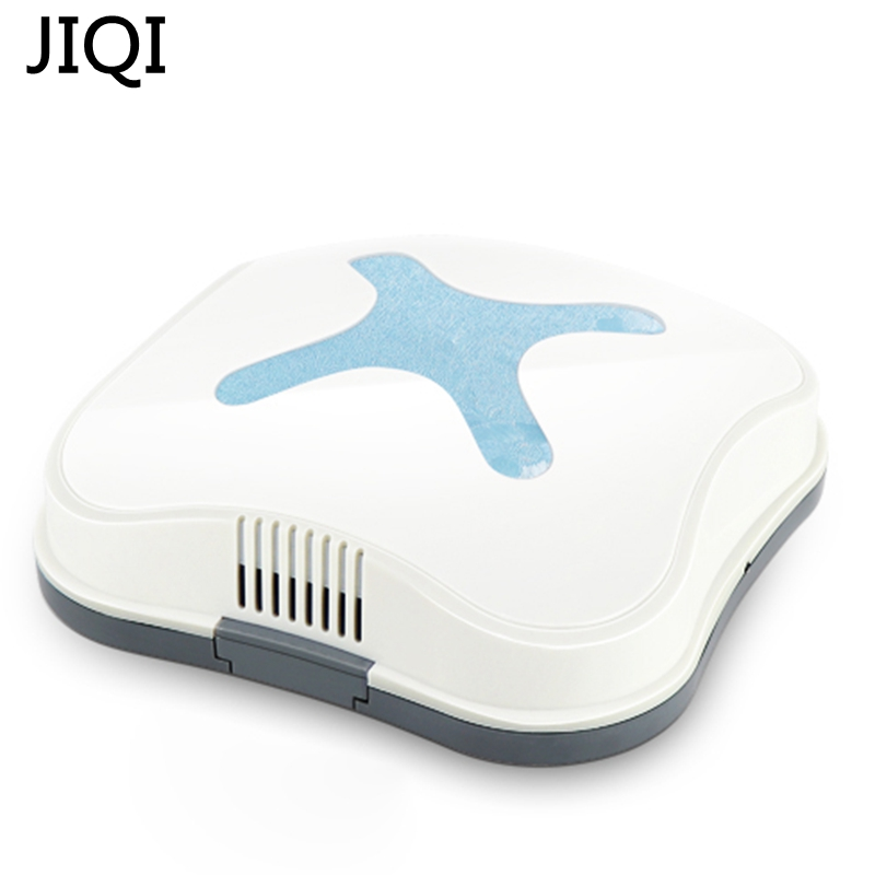 JIQI Mini Rechargeable Smart Sweeping Robot Slim Sweep Suction Drag USB charging Small Mini Vacuum Cleaner Sweeping device xshuai hxs g1 vacuum cleaner robot wireless 2000pa super suction auto recharge gyro navigation sweep drag for wood floor carpet