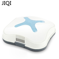 JIQI Mini Rechargeable Smart Sweeping Robot Slim Sweep Suction Drag USB Charging Small Mini Vacuum Cleaner
