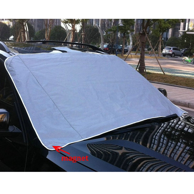 Winter Car Cover >> Us 10 33 6 Off Winter Thick Magnetic Car Cover Windscreen Cover Mat Snow Ice Frost Protector For Mazda Bmw Audi Ford Volkswagen Hyundai Toyota In