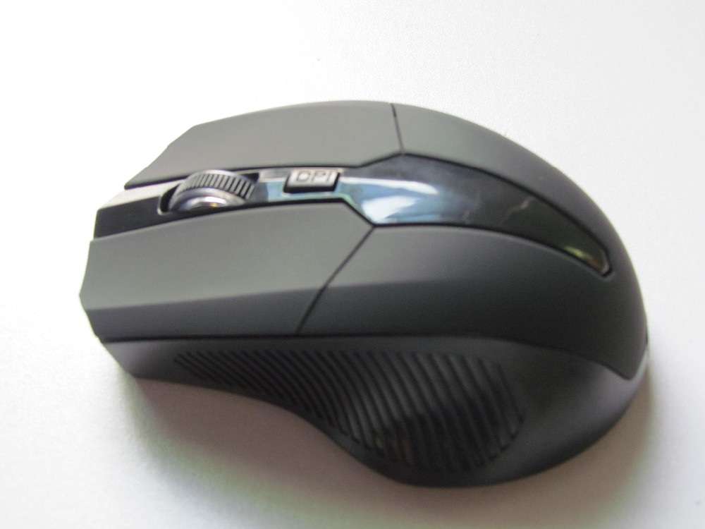 HaiQianXin Rechargeable 2.4G Wireless Silent Colorful LED Backlit USB Optical Ergonomic Gaming Mouse Mice