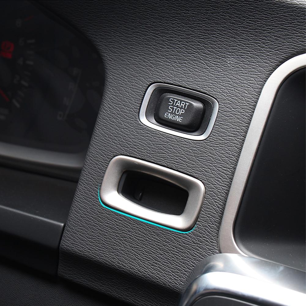 Автомобиль-Стайлинг для VOLVO XC60 V60 S60 S60L V40 V40CC 2012- нержавеющая сталь катушка зажигания наклейки с блестками аксессуары