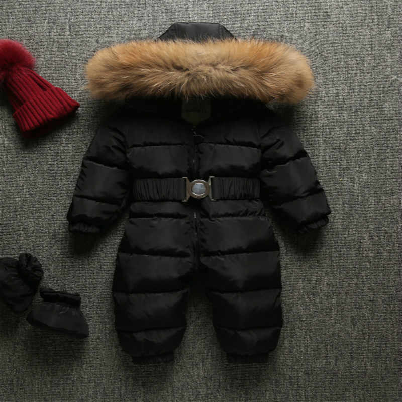 6f0517913 Detail Feedback Questions about Winter Baby Overalls Clothes Newborn ...