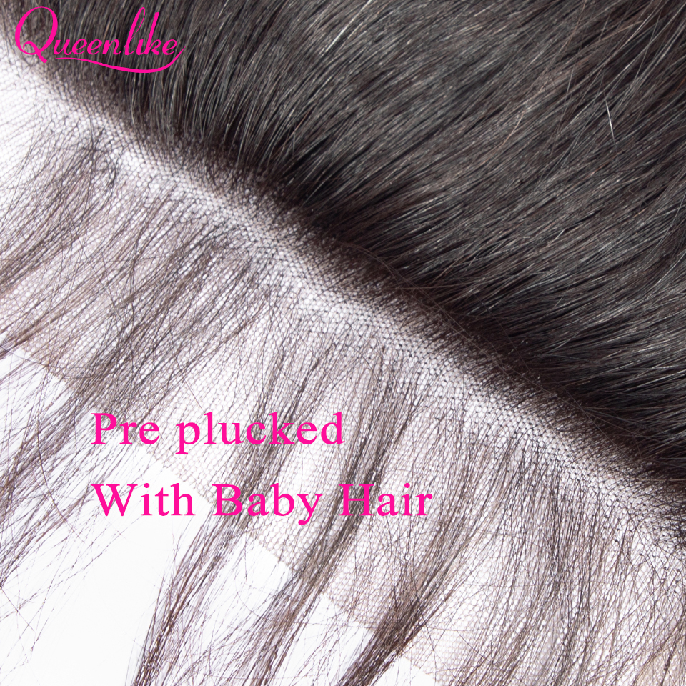 Queenlike Body Wave 6x6 Closure Pre Plucked With Baby Hair Natural Hairline Brazilian Remy Hair Big Lace Size Swiss Lace Closure in Closures from Hair Extensions Wigs