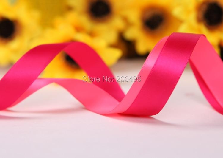 """[IuBuFiGo] атласной лентой 5/""""(16 мм) одно лицо декоративные ленты 100 ярдов/lot/roll Розничная"""