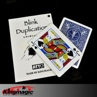 Holiday Sales Blink Duplication by Katsuya Masuda magic props with introduction 5pcs each lot