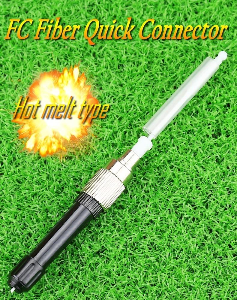 ⊱KELUSHI 10 PZ Ftth Fibra Rapido Montaggio Hot Melt Connettore FC ... cdc2359fbea0