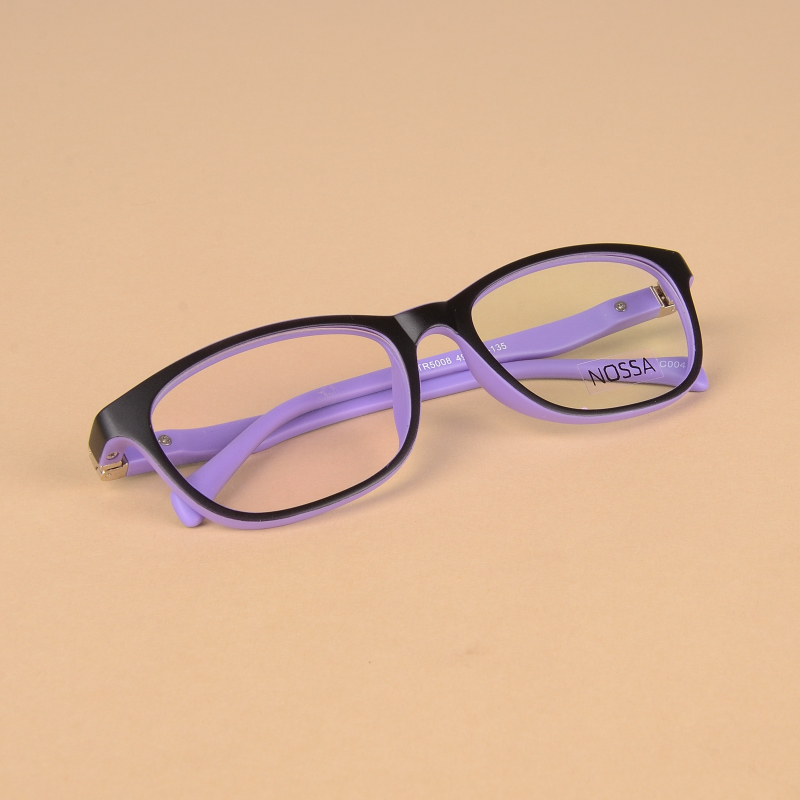 Men's Glasses Kids Glasses Frame With Cord New Fiber Screwless Optical Eyewear Unbreakable Eyeglasses Boys Girls 10pcs