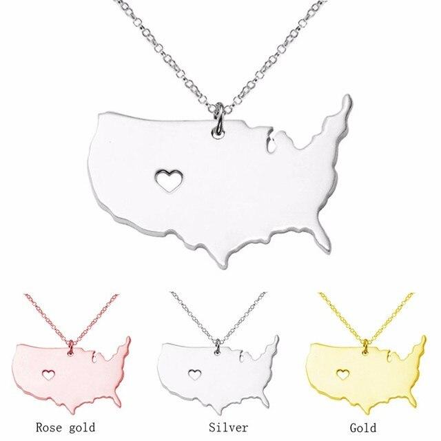 12pclot 3 Colors Customize America Jewelry SilverGoldRose Gold