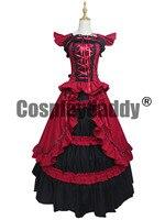 Викторианский период Готический период платье бальное платье воссоздание Костюмы театр Носите V001