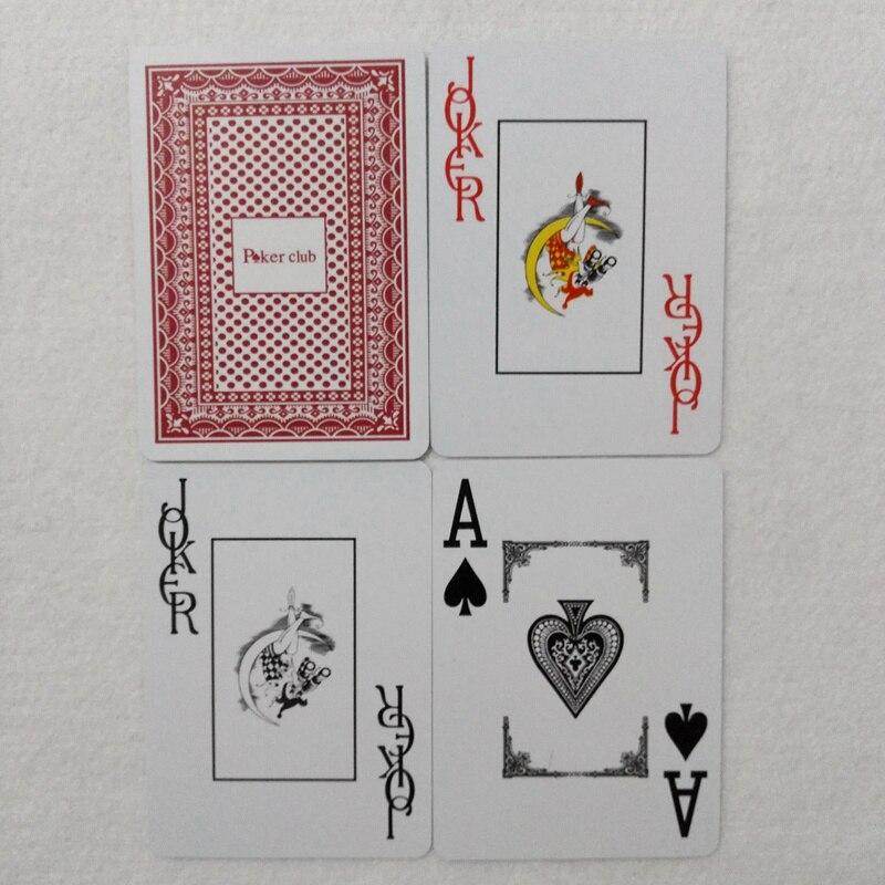 Hot 2-set / Lot Baccarat Slät Vattentät Texas Hold'em Poker Club - Underhållning - Foto 6