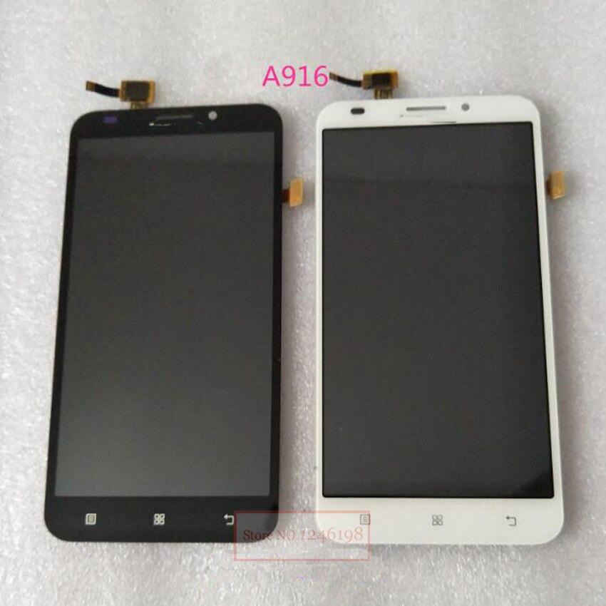 Negro/blanco nueva pantalla lcd full pantalla táctil de cristal digitalizador as