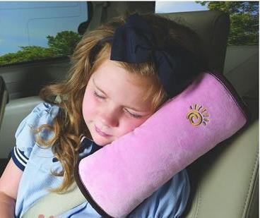 Children Sleep Cushion Kids Headrest Neck Support Pillow Shoulder Pad For Car Seat Belts Car Styling Pillows