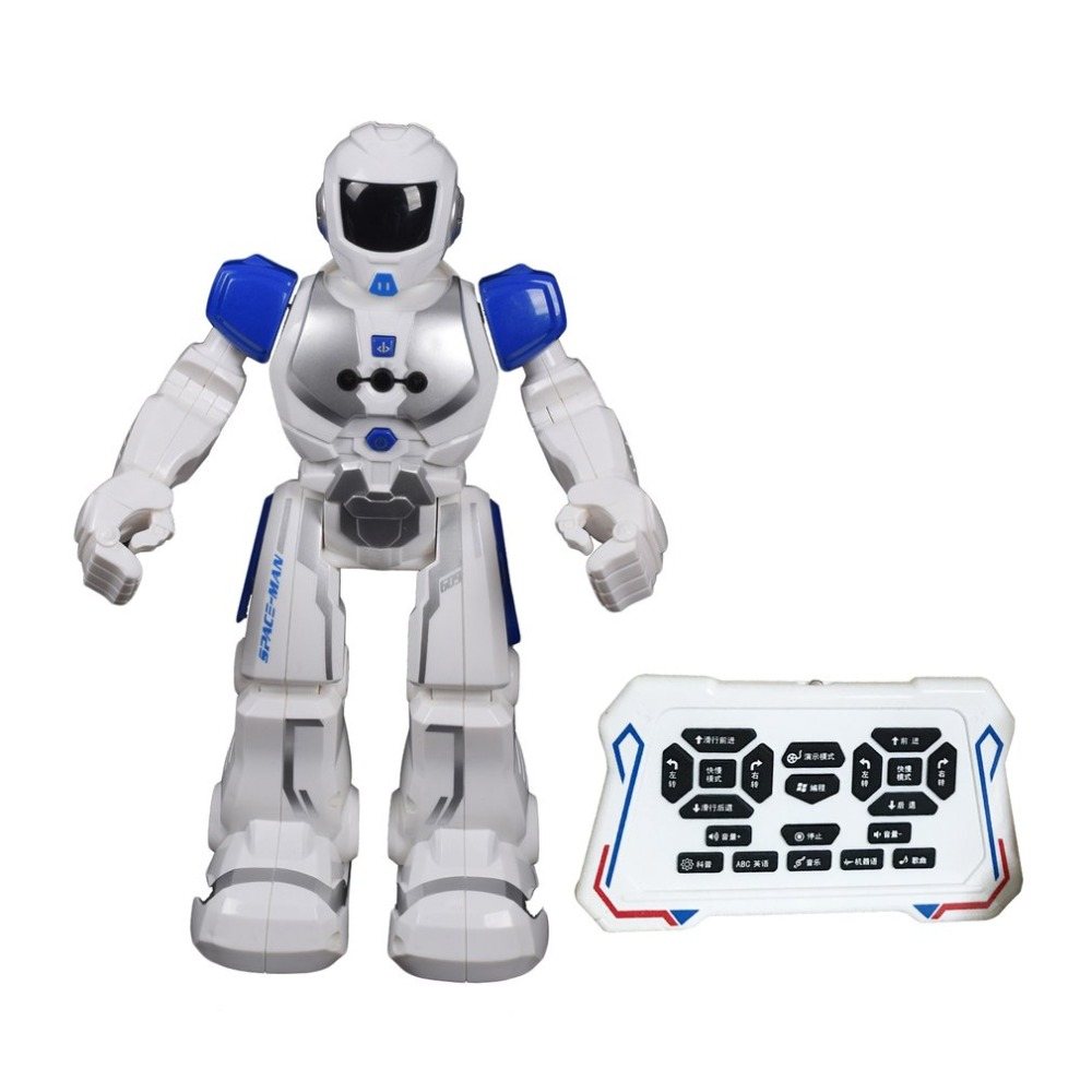 RC Robot Intelligent Electric Infrared Gesture Control Robot Soldier Walking Dancing Smart Space Robot Toys for Kids Boys Gift jjrc r3 rc robot toys intelligent programming dancing gesture sensor control for children kids f22483 f22483