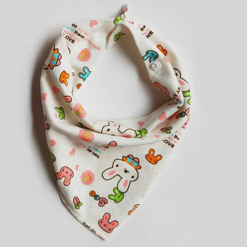 Babadores de bebê bonito dos desenhos animados padrão da criança babadores burp panos saliva toalha algodão infantil burp panos almoço alimentação acessórios