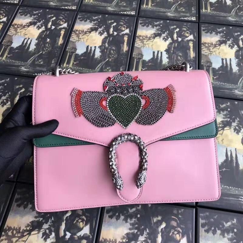 купить WW1005 100% Genuine Leather Luxury Handbags Women Bags Designer Crossbody Bags For Women Famous Brand Runway по цене 21586.49 рублей