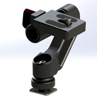 NEW Monitor arm Magic arm lcd supporter Universal adjusted hot shoe for 5 inch 7 inch hd lcd monitor