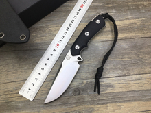 G10 Handle Survival Knife D2 Bolte Hunting Fixed Blade Knife Utility Outdoor Straight Knives Camp EDC Tools Tactical K Sheath