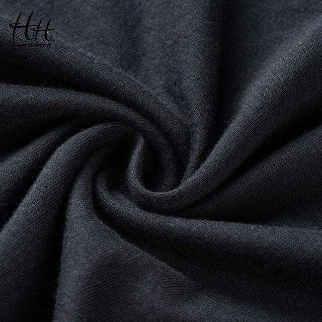 HanHent Speedometer Fashion Motorcycle T Shirt Men Cotton Summer Car Speed T-shirt Black Design Tops Tees Fitness Clothing Brand